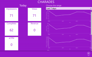 Developer Submission: Vungle Analytics, track your Vungle video ad revenue from your Windows phone 2