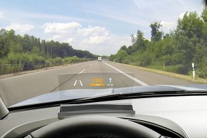 Head up Display as accessory