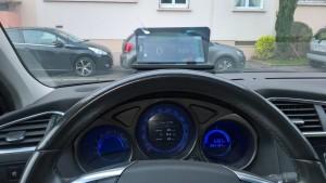 DYC my HUD depuis ma voiture