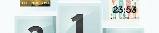 1 Million downloads  1 year of fitbit clockfaces development. #success #improvement
